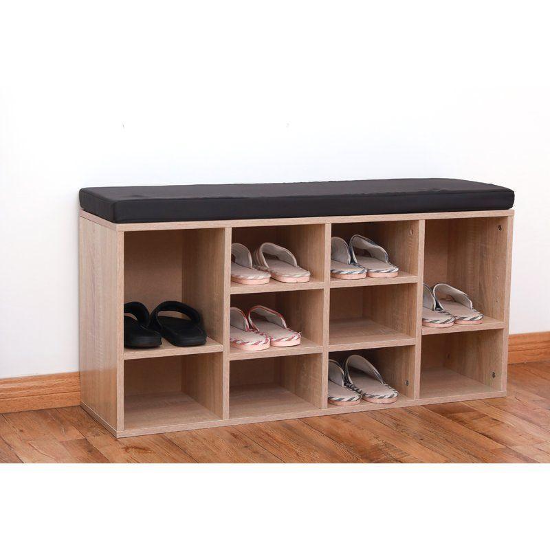 10 Pair Shoe Storage Bench Bench With Shoe Storage Shoe Storage