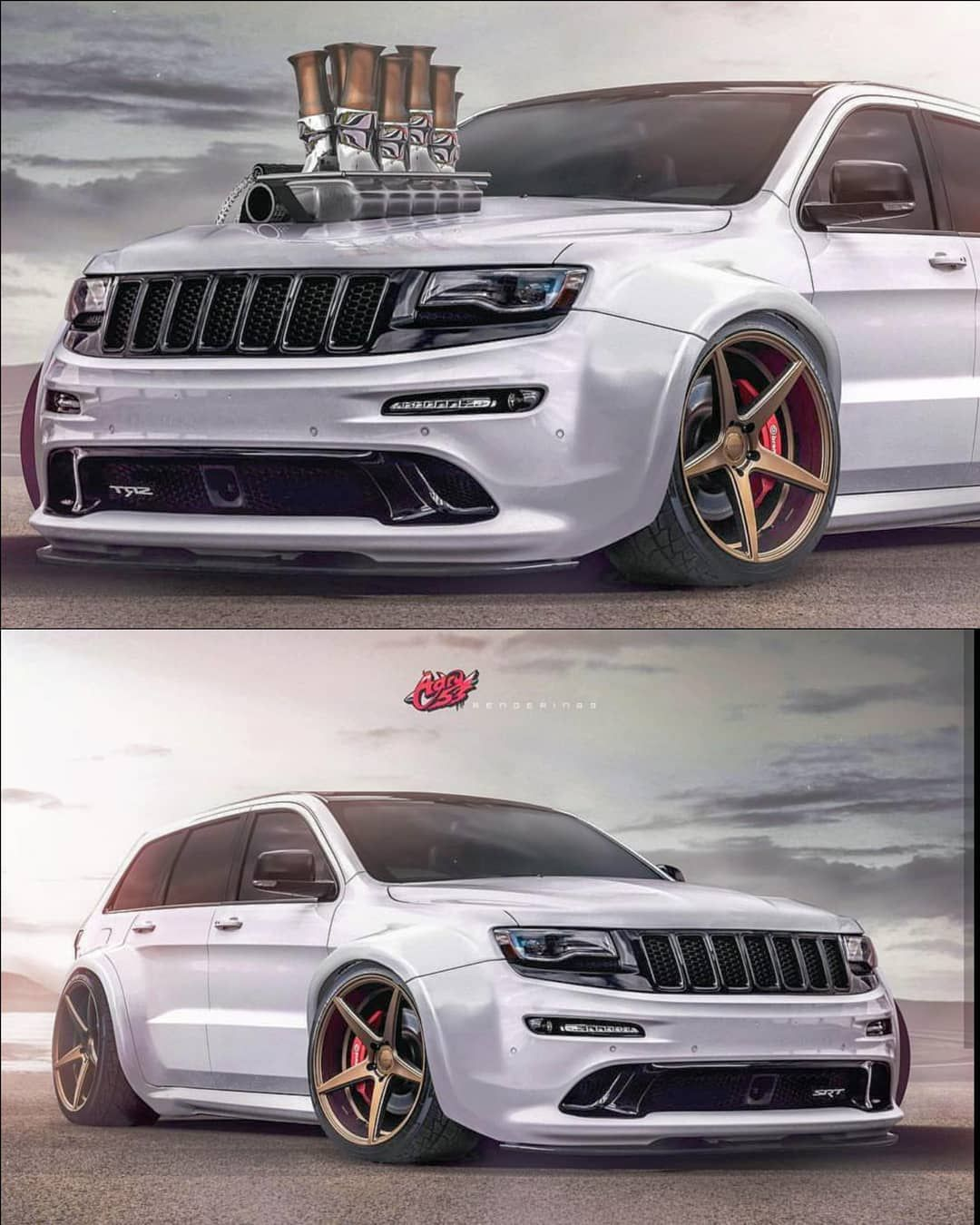 Sick Check Out Adry 53 With This Widebody Jeep Render