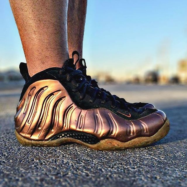 huge discount 1de46 3464e What did you wear today? : Nike Air Foamposite One 'Copper ...