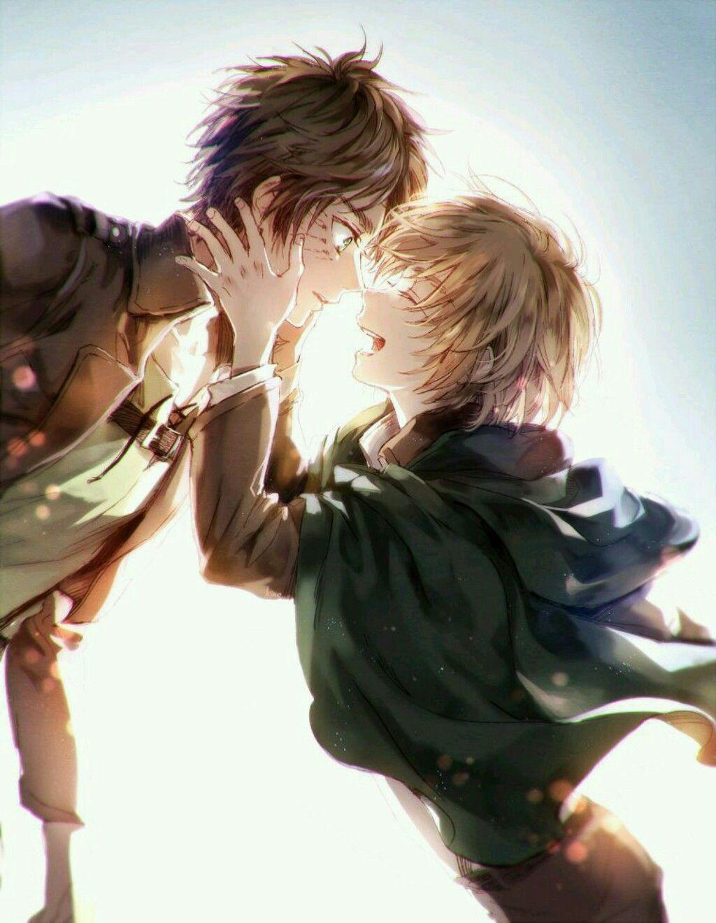 Eren and Armin, SnK