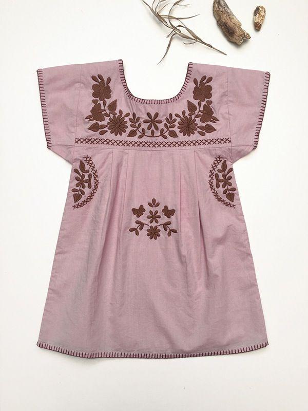 Image of Girl - 'Jane' Dress - Rose