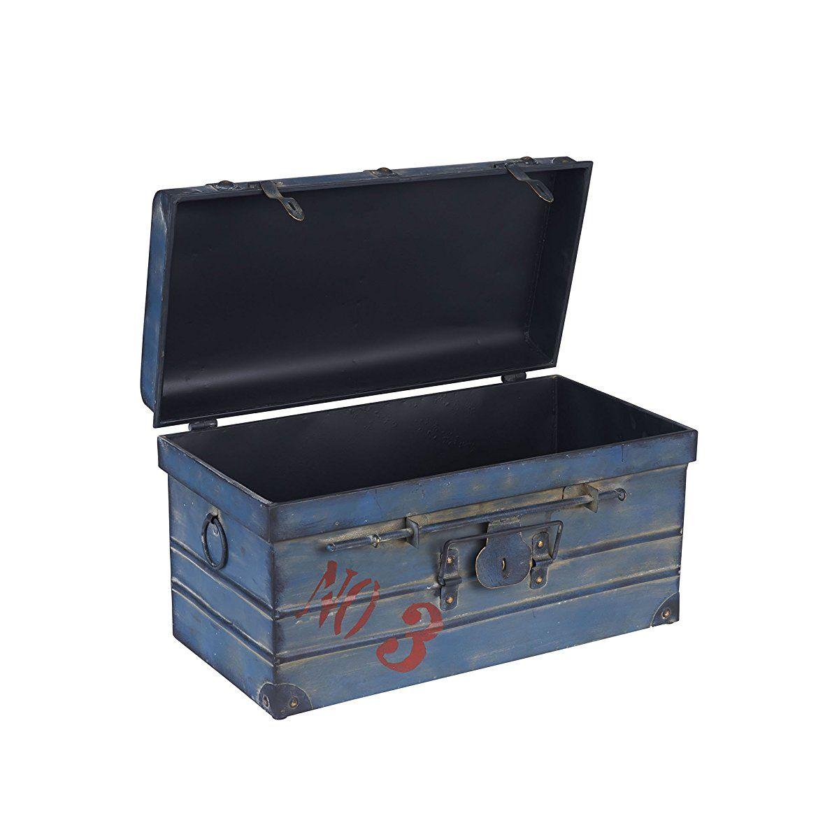 Steamer Classic Storage Trunk, Blue