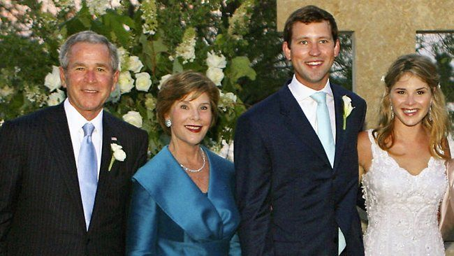 Brand New Grandparents Of A Baby Girl President George W Bush