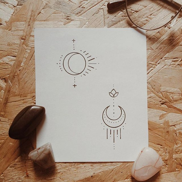 Under The Calf Calf Constellationtattoomeaning Tatouage Soleil Lune Tatouage Tatouage D Inspiration