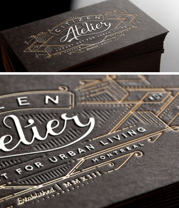 12 of the most attractive embossed business cards business cards 12 of the most attractive embossed business cards colourmoves Images