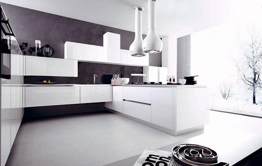 50 Foto Di Cucine Moderne Con Penisola Mondodesign It Modello Di Cucina Contemporanea Progettazione Di Una Cucina Moderna Cucine Contemporanee