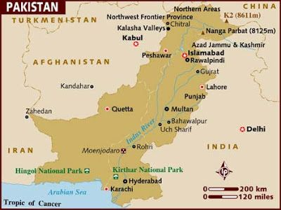 The Road to Motivation: Welcome Pakistan! | Maps | Pakistan map