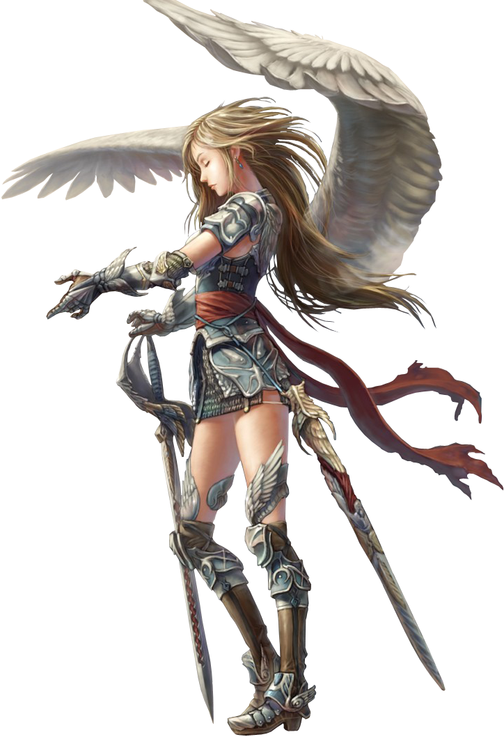 Png 724 1058 Angel Warrior Warrior Woman Character Art