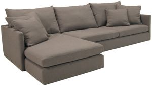 Super Abc Carpet Cobble Hill Downtown Sectional Deirdre Grey Cjindustries Chair Design For Home Cjindustriesco