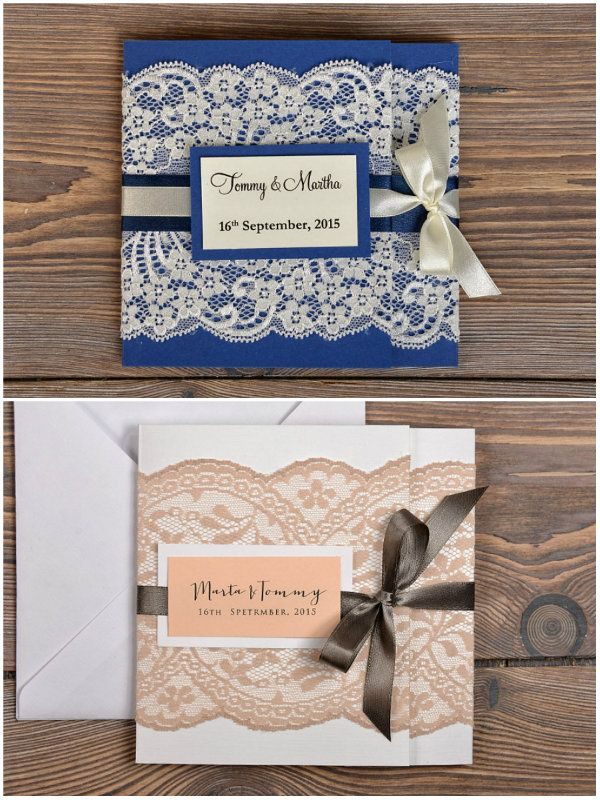 Diy Vintage Spitze Einladungskarten Fur Hochzeit Karte Hochzeit Hochzeitseinladungen Diy Einladungen Hochzeit