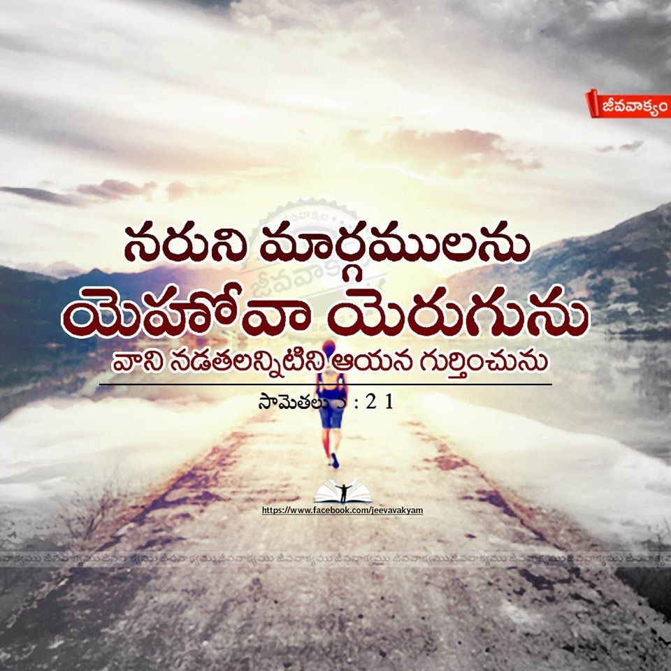 Pin by V.Anu on Jesus Bible quotes telugu, Bible qoutes
