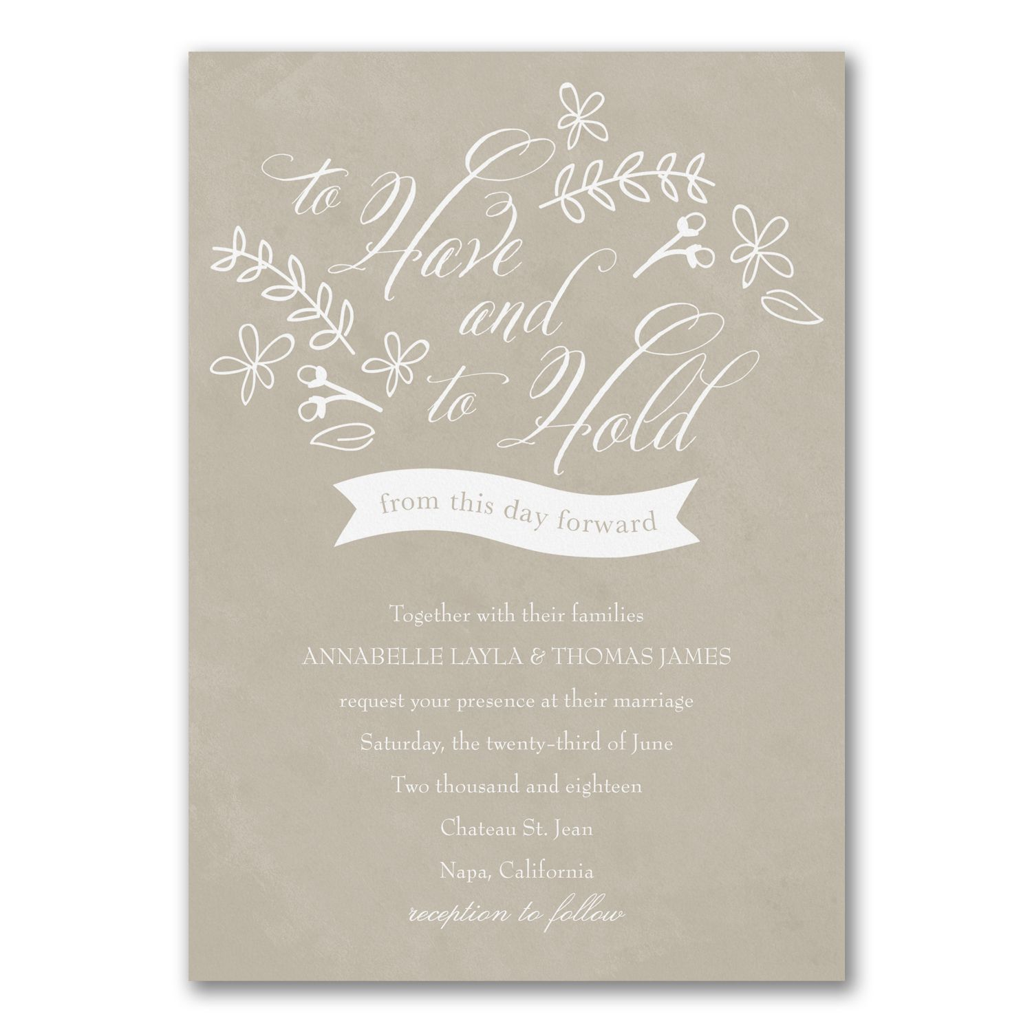 Get Exclusive Access To A Variety Of Wedding Invitations