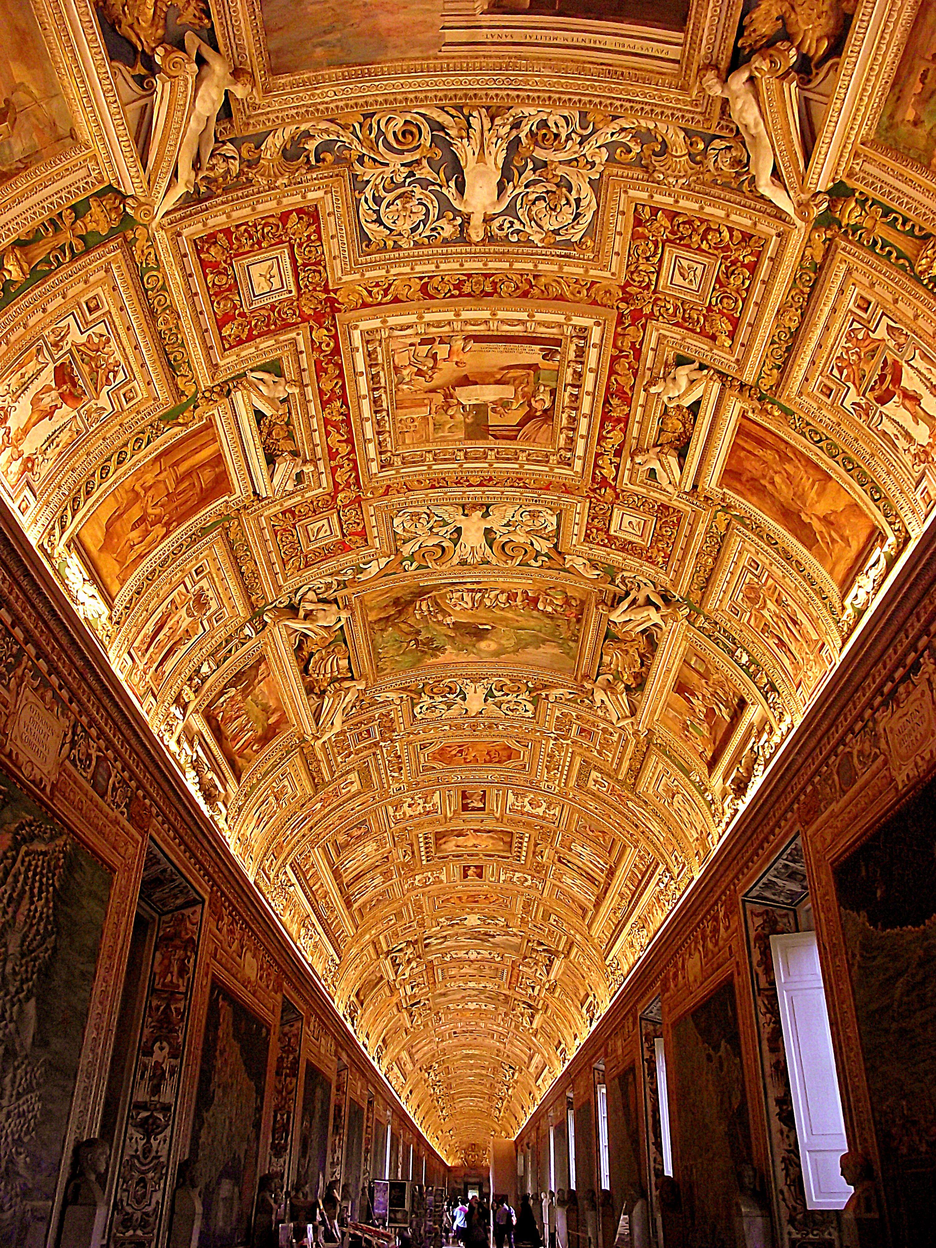 Ceiling Of The Map Room, Vatican Museum AFAR.com Highlight