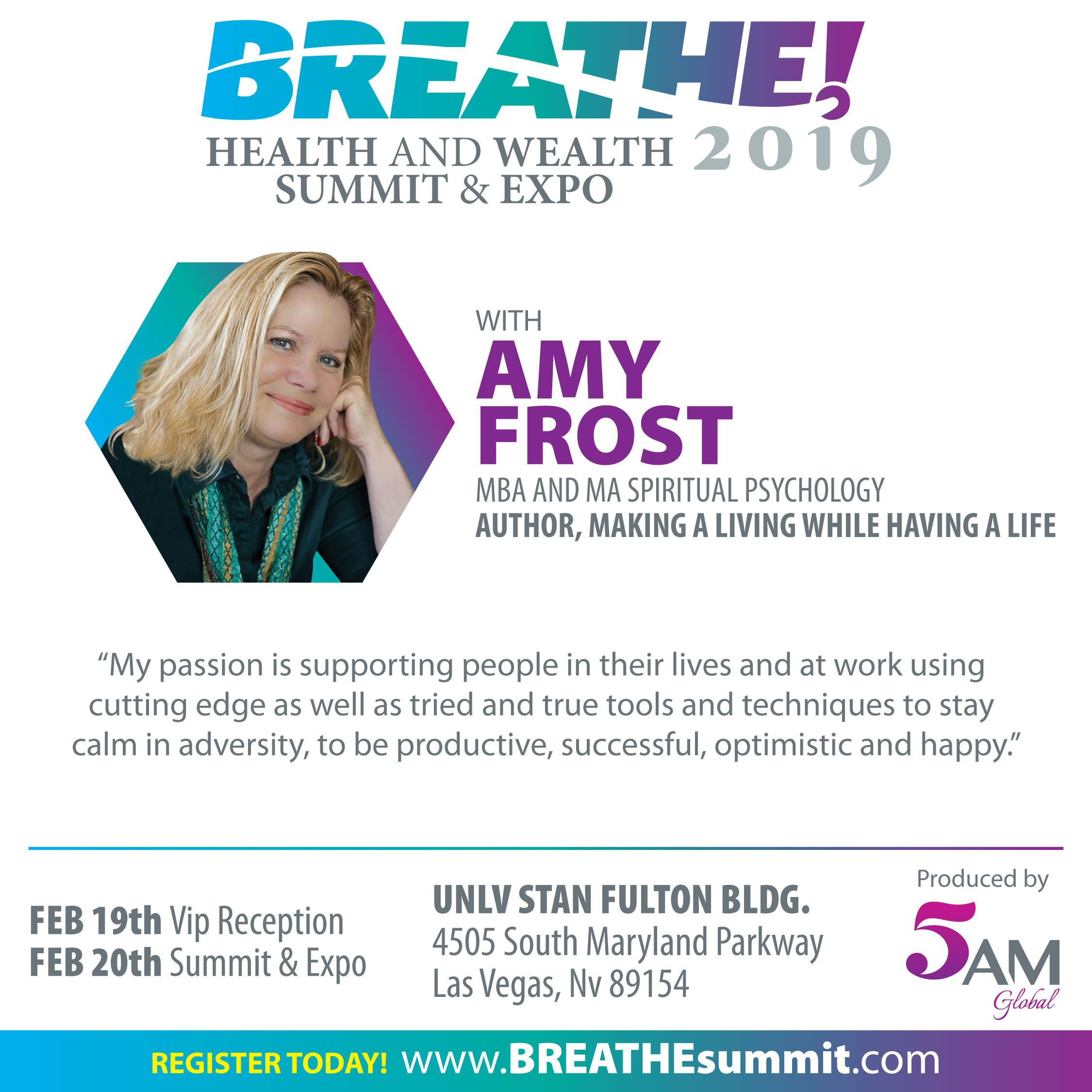 """Learn more about speaker Amy Frost, Author of """"Making A"""