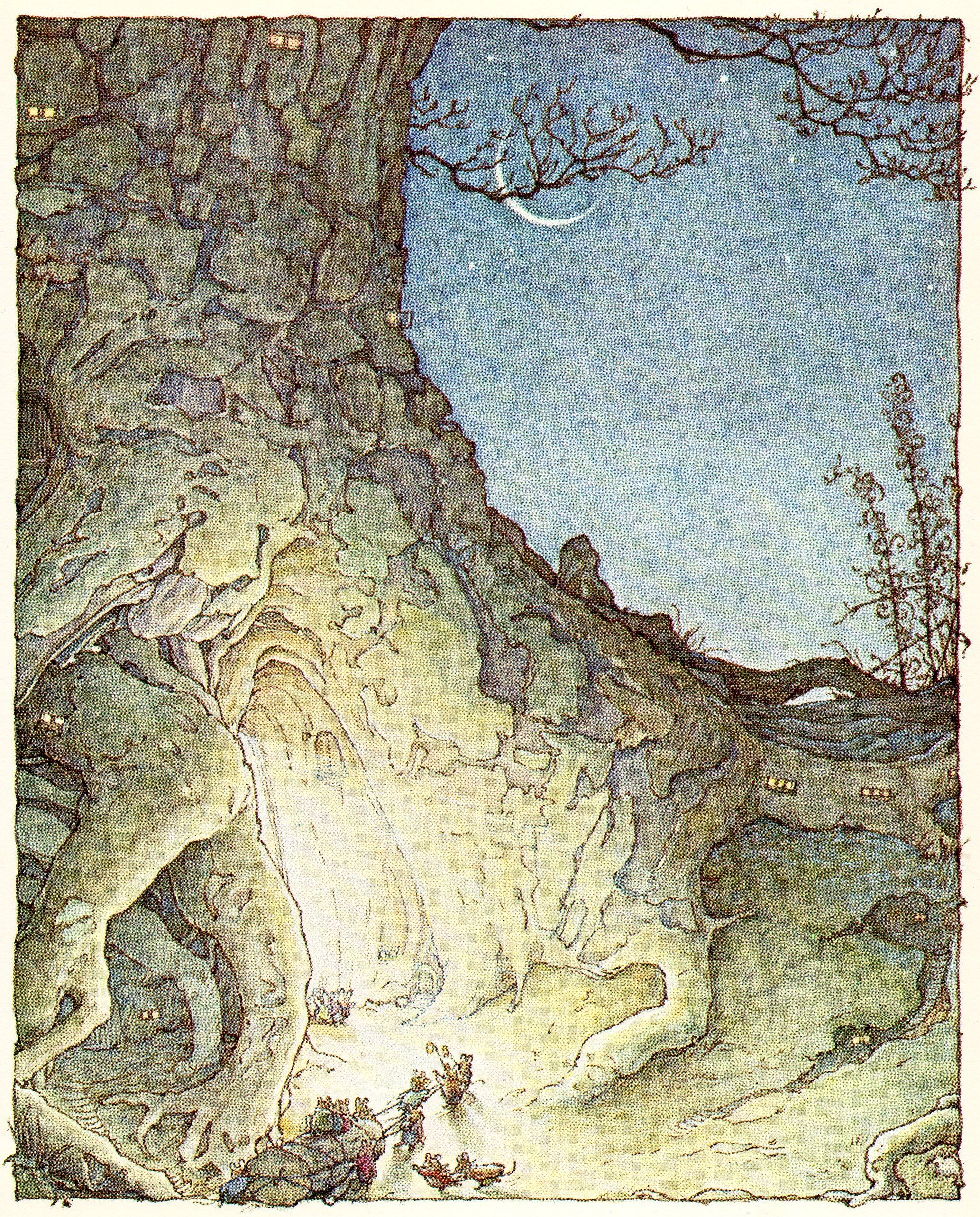 Jill Barklem going back in time Hey Bud Brambly Hedge, Cicely Mary Barker,  Beatrix