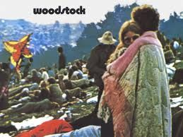 Woodstock Album Cover  The couple wrapped in a blanket didn