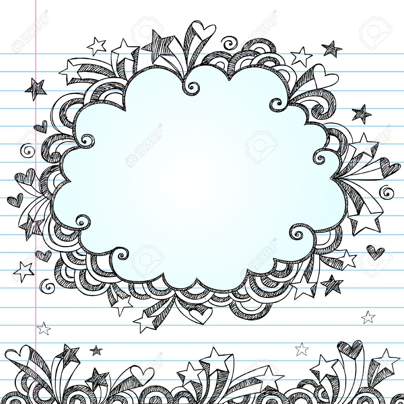 Background cute notebook google search backgrounds - Doodle dessin ...