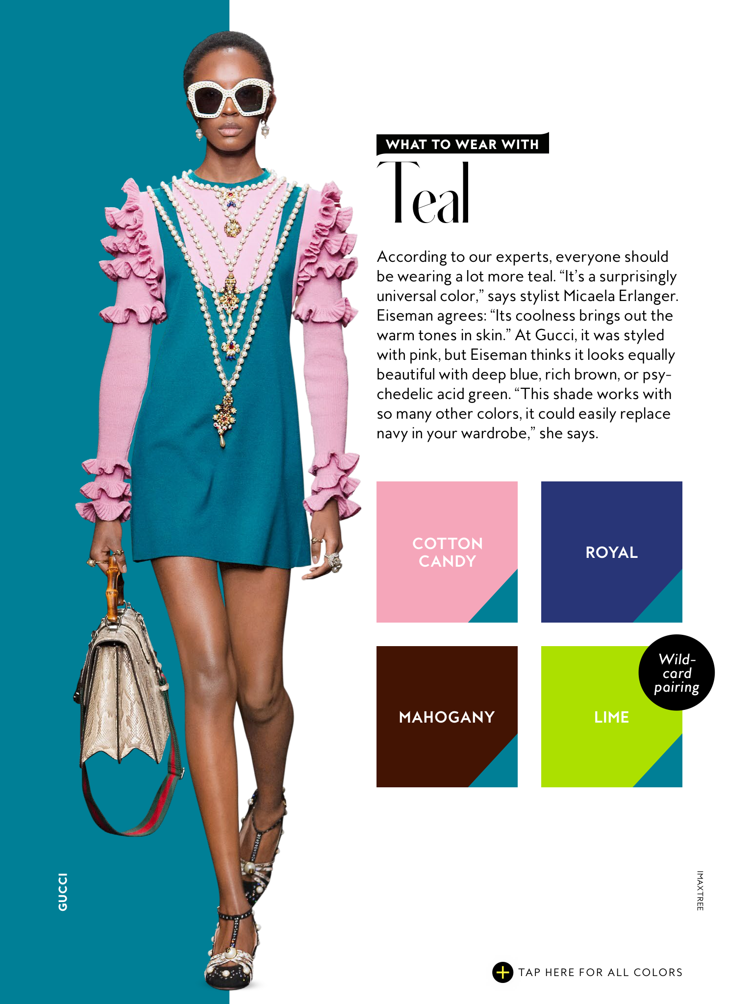 Colours That Go With Teal Dress