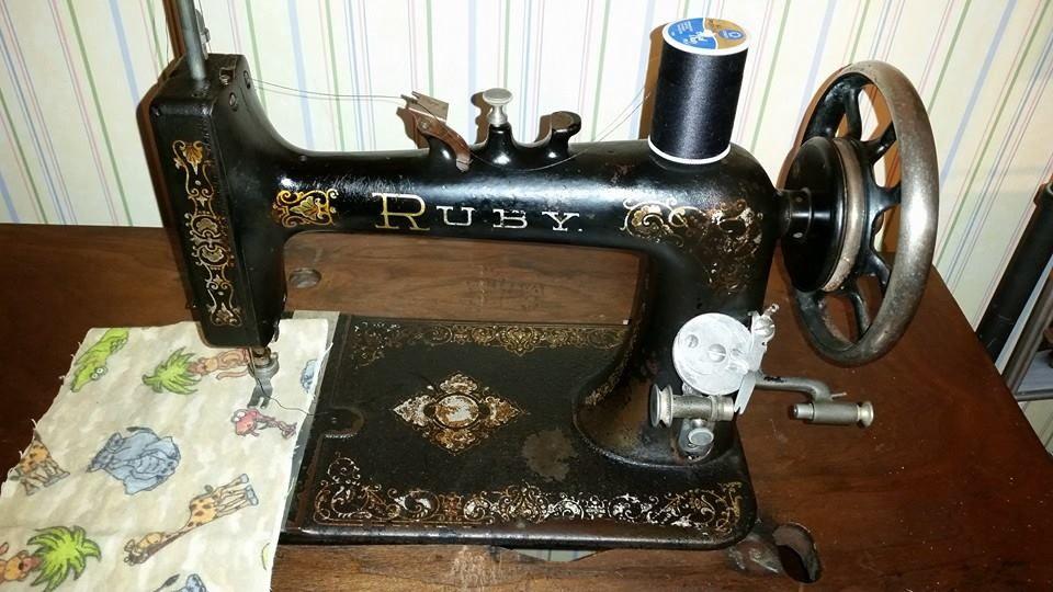 ruby sewing machine