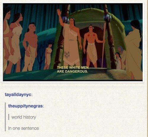 The caves of Tumblr are deep. Often the users will strike gold on an idea that will rock your world and forever change the way you think. Here they show that there is more than what meets the eye to many of our beloved Disney folk.