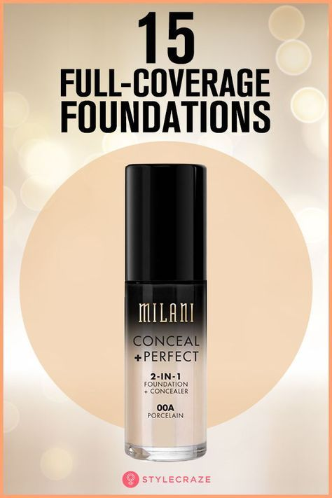 what foundation gives the best coverage