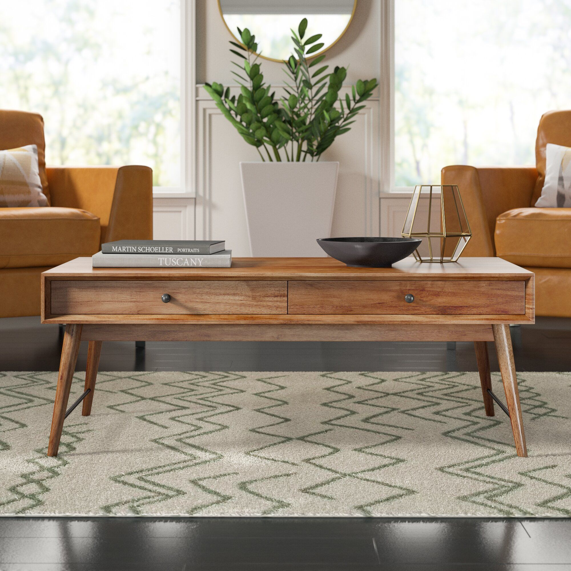 Andersen Solid Wood Coffee Table With Storage Coffee Table Living Room Furniture Coffee Table Wood [ 2000 x 2000 Pixel ]