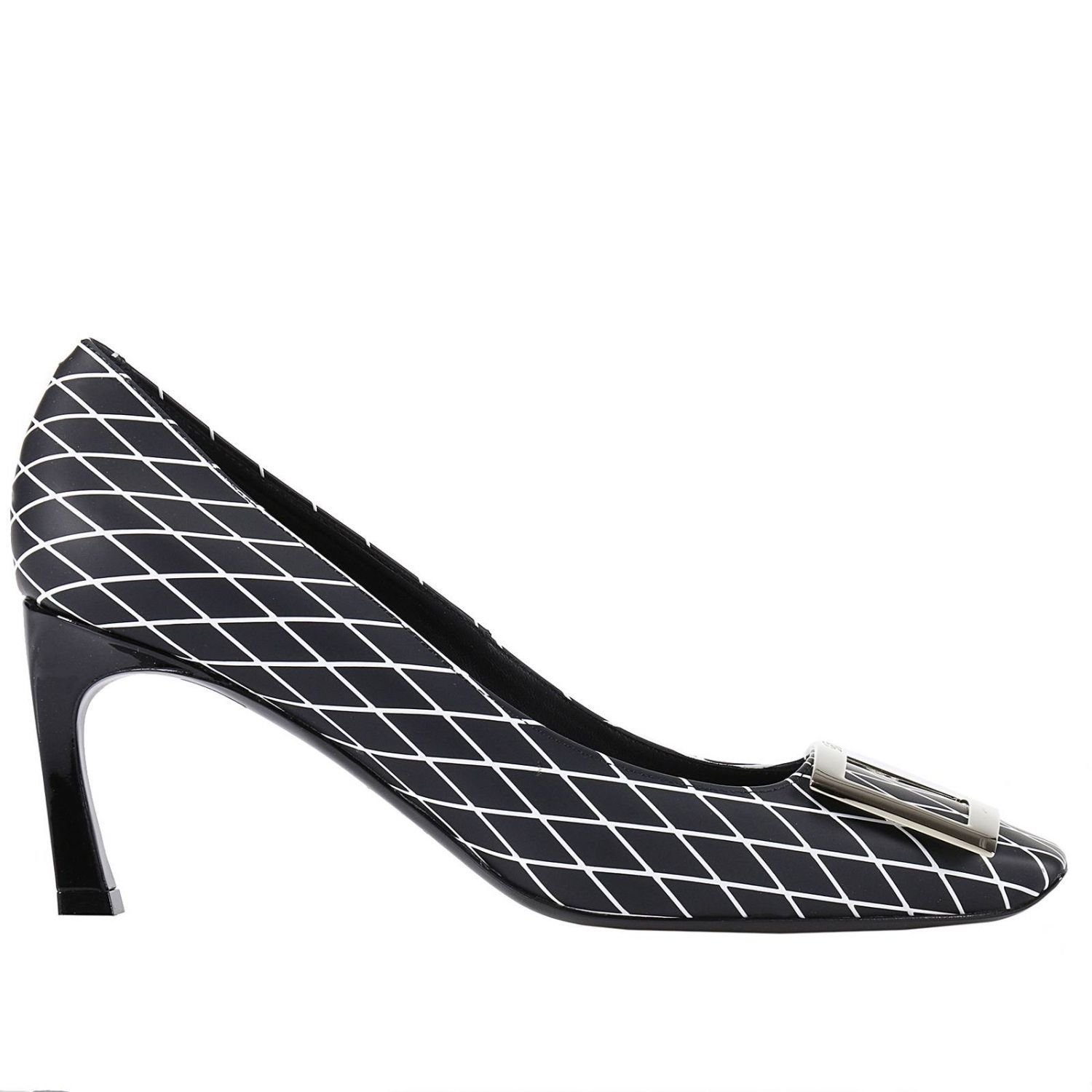 Belle Vivier Metal Buckle Pumps Roger Vivier HlveZE