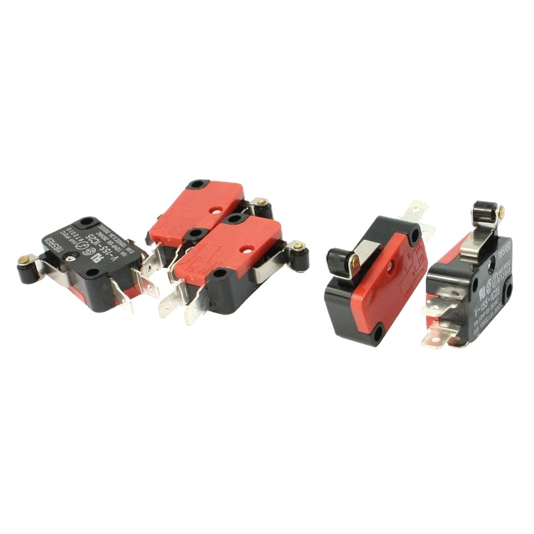 5pcs Spdt No Nc V 155 1c25 Short Hinge Roller Lever Control Limit Micro Switch With Cheap Buy Quality Directly From China Suppliers
