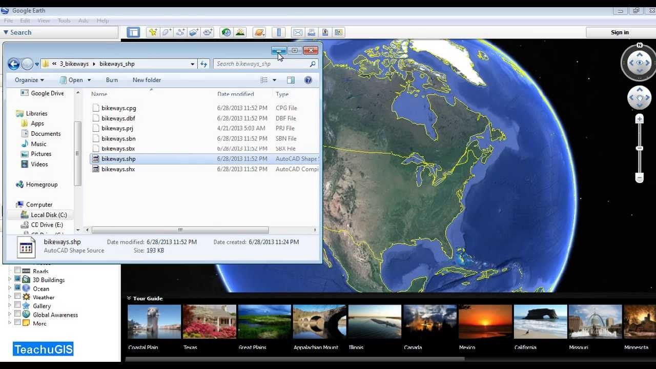 ArcMap 10: Open your GIS data in Google Earth by converting