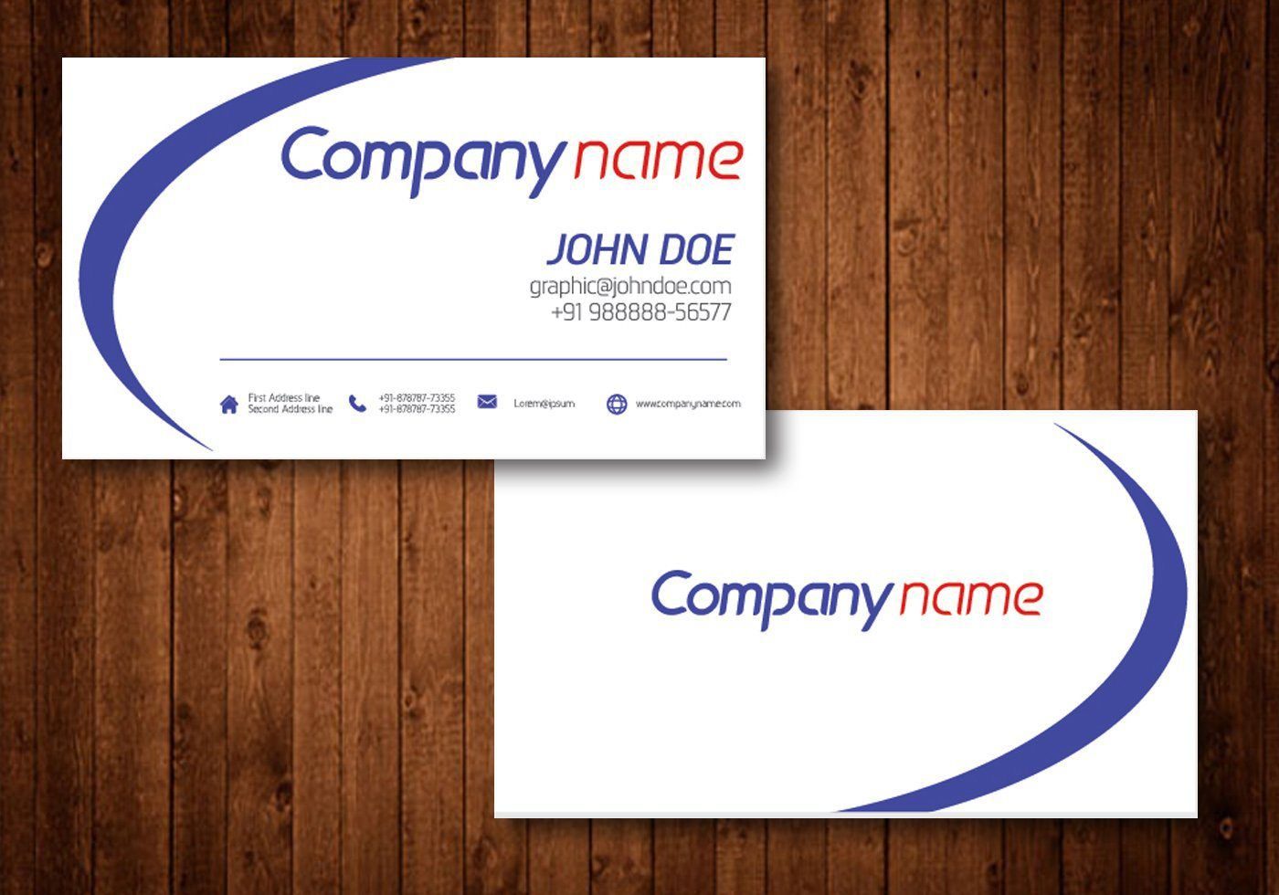 Business card template psd free download business cards business card template psd free download reheart Images