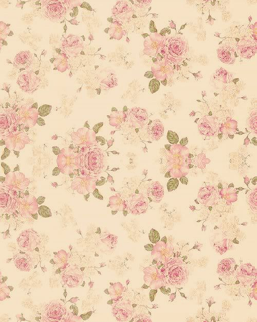 Vintage Flowers Wallpaper Vintage Floral Backgrounds Floral Pattern Wallpaper