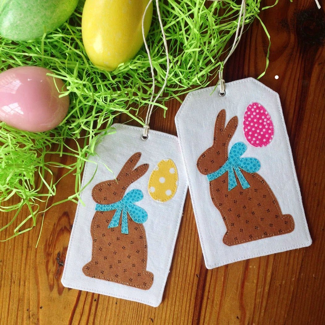 Easter gift tags initial on one side bunny on the other easter gift tags initial on one side bunny on the other negle Gallery