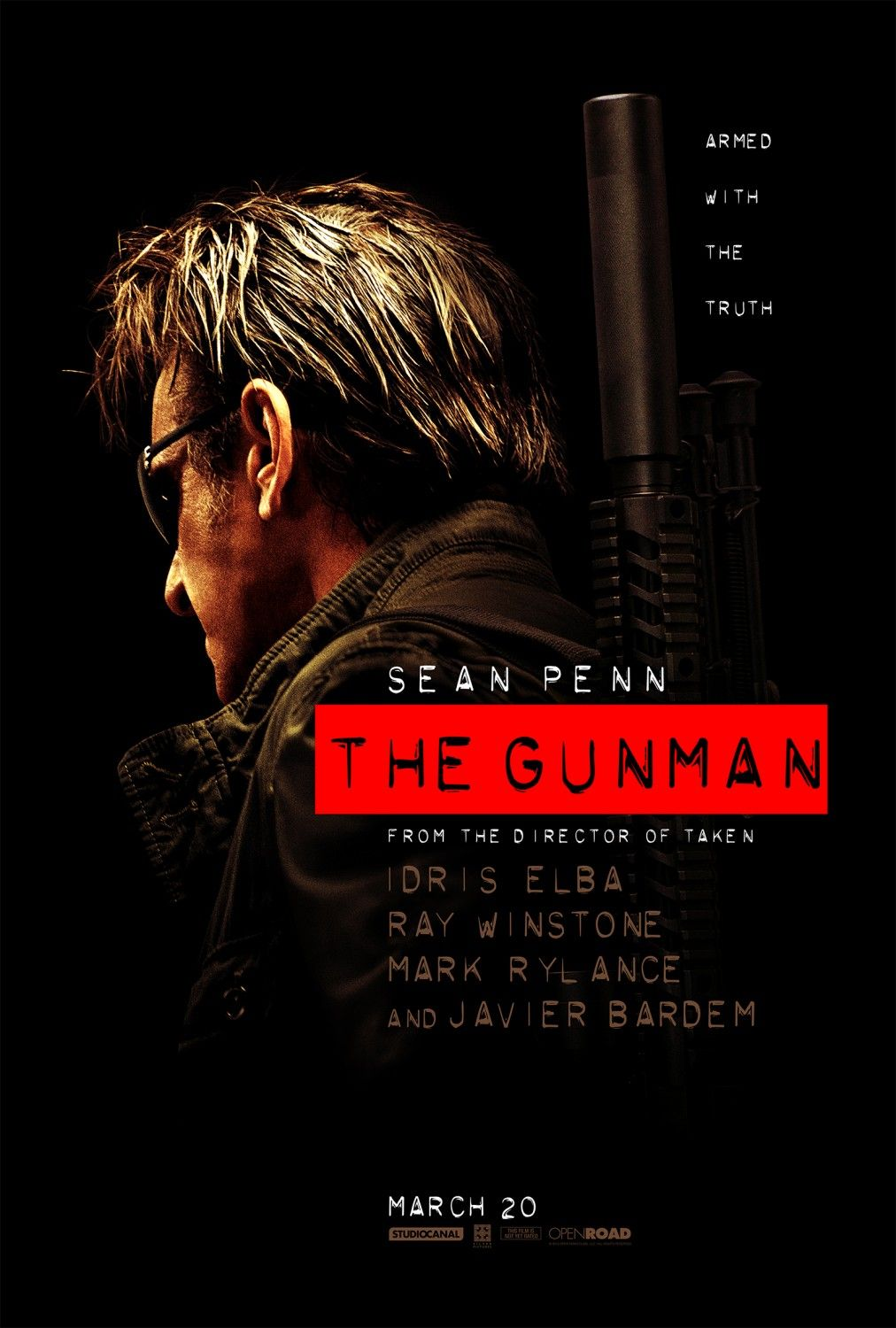 "The Gunman (2015) -- Friend of ours, M, is looking after Pierre Morel on Feb 17 2015.for the Press Day for The Gunman. PM rocked as Director for ""District 13"" and in ""Taken"". ""The Gunman"" is the one to watch."