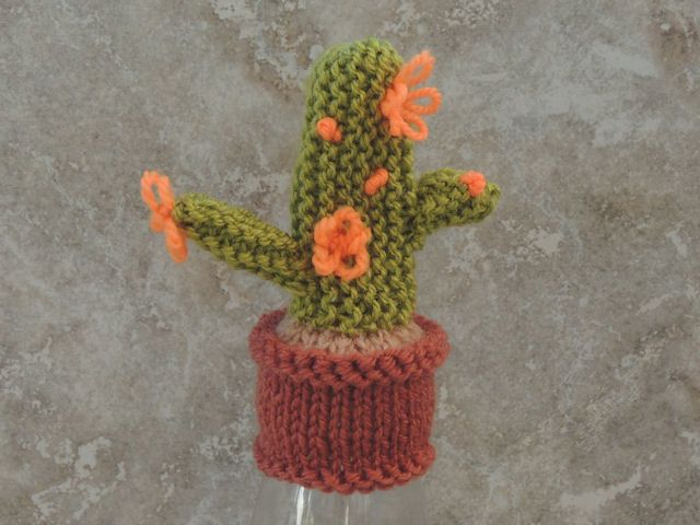 Innocent Smoothies Big Knit Hats - Cactus Pattern ...