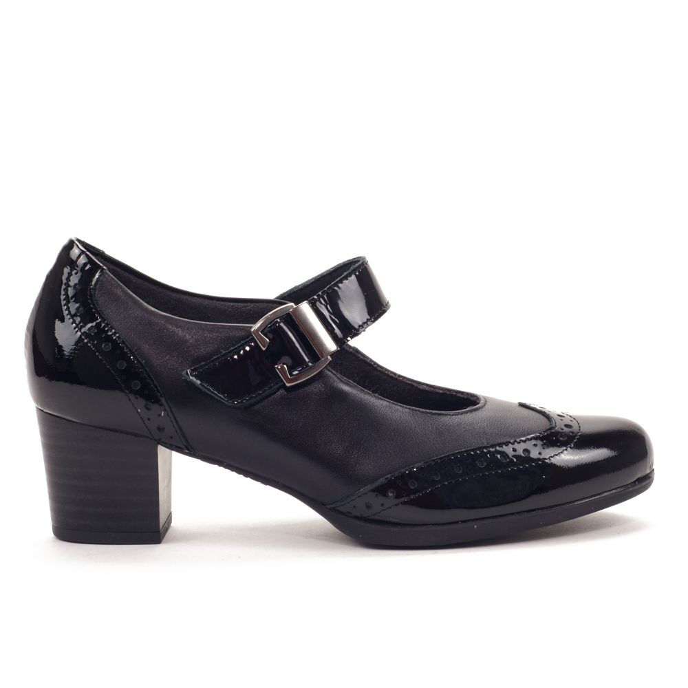 Mercedes 1843 Tacones Anchos Zapatos Mujer Zapatos