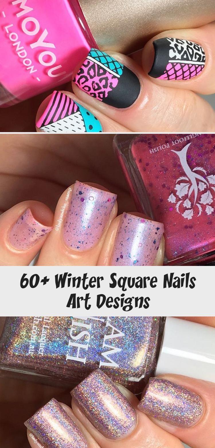 Photo of 60+ Winter Square Nails Art Designs – ART