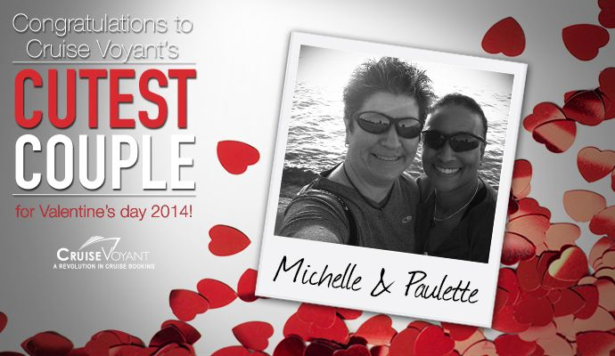 With assistance from a Cruise Voyant cruise specialist, our Cruise for Love contest winners, Michelle Paulette and Padula Pierre, have booked their romantic cruise vacation. Read our newest press release to see what getaway they chose!