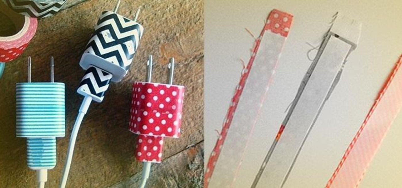 How to Organize Cords, Customize Your Keyboard, & Make Your Desk Nonslip with DIY Fabric Tape