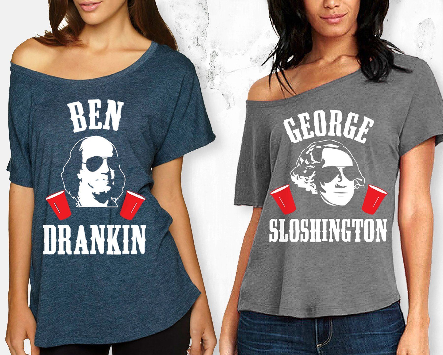 30c0236ad MOUNT SLOSHMORE Off Shoulder 4th of July Shirt | Products | Fourth ...