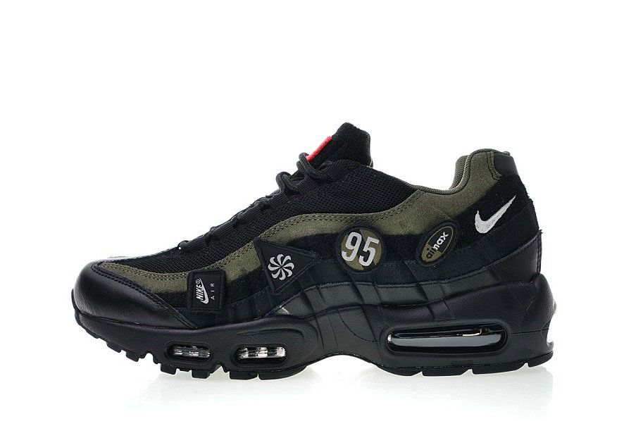 Nike Air Max 95 HAL Patches AH8444 001 077 Ting at købe  Stuff to buy