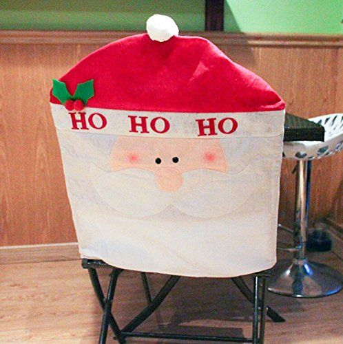 red cherry santa claus dinning room restaurant chair covers >>> This is an Amazon Affiliate link. Click image to review more details.