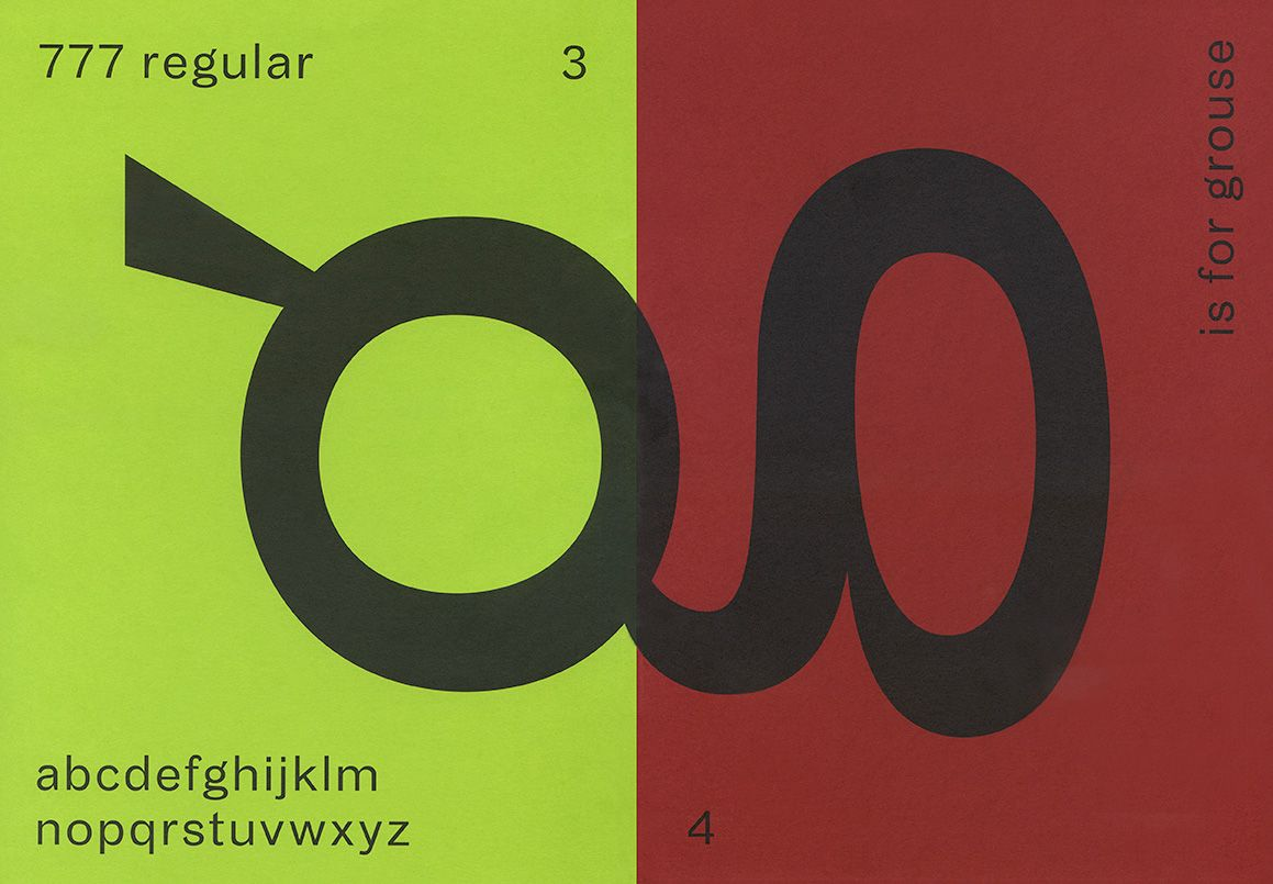 The Gourmand Grotesque / designed by Monotype