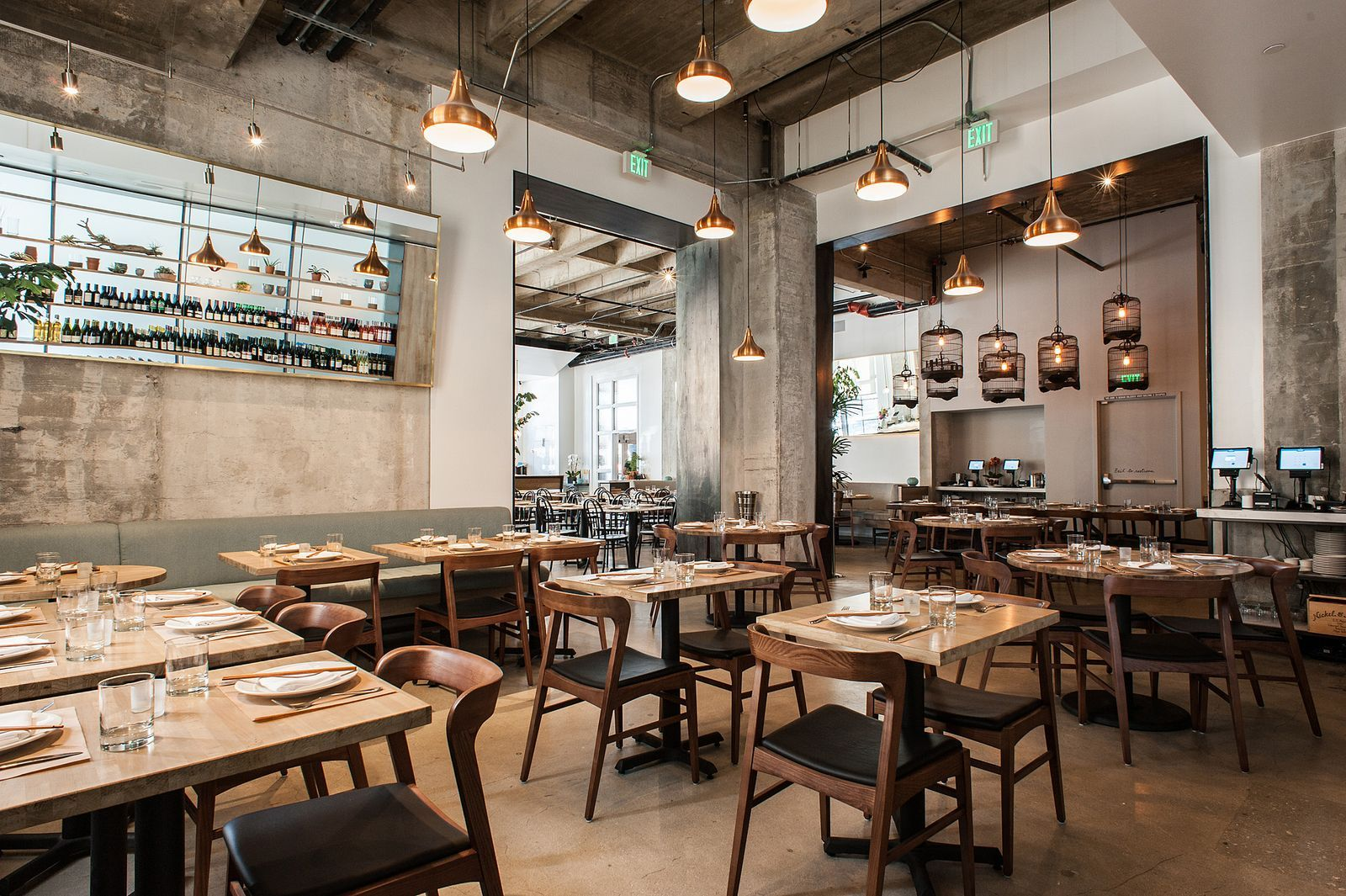 Los Angeles Restaurants With The Most Stunning Design Restaurant Design Modern Restaurant Design Asian Interior Design