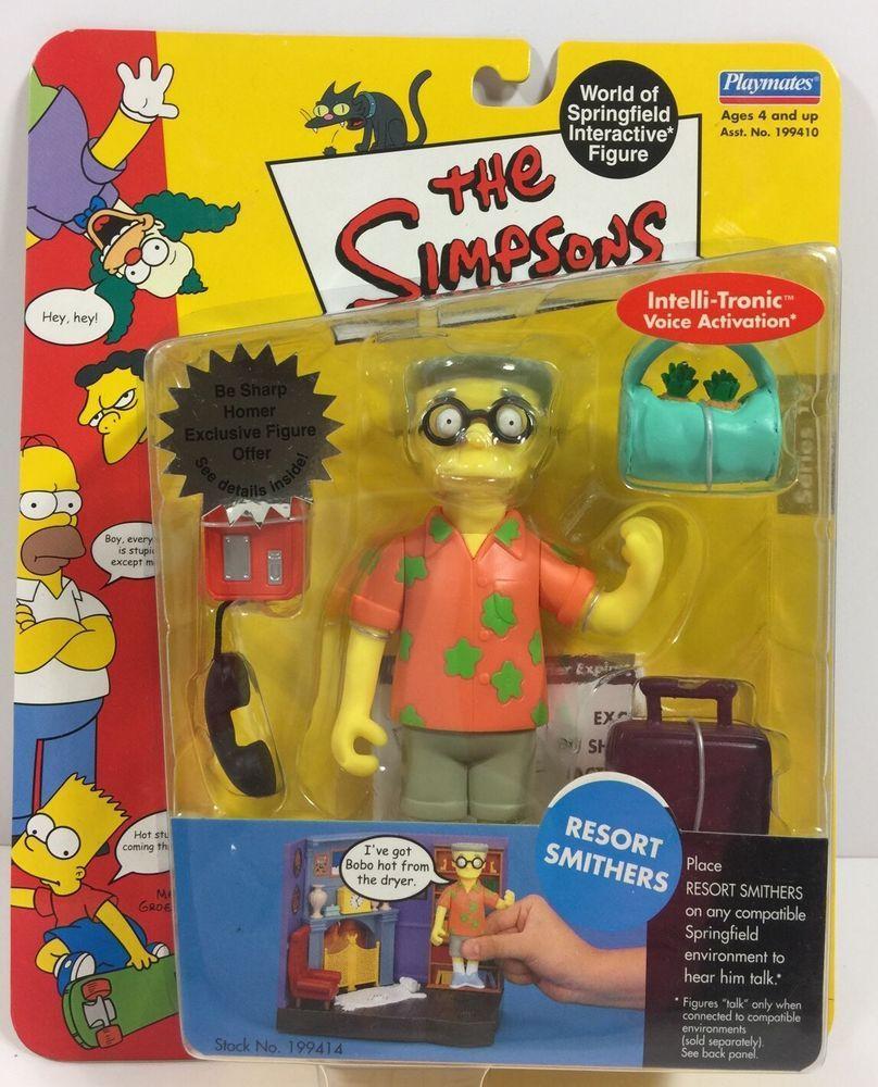 World of Simpsons Brad Goodman MINT LOOSE COMPLETE
