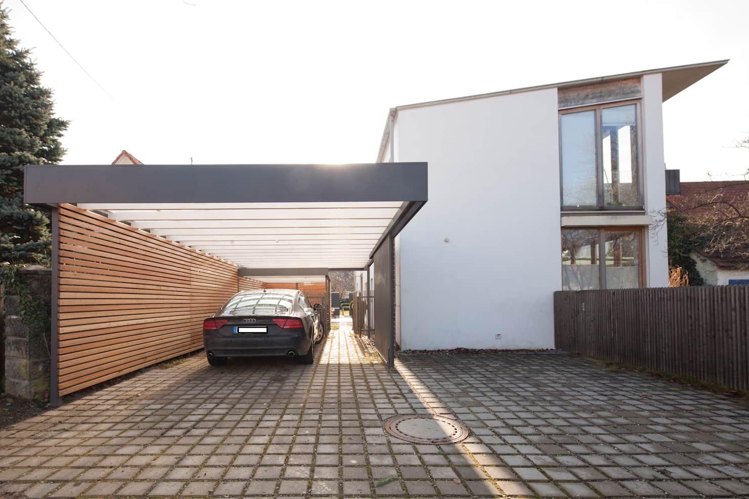 Modern garage and shed by architekt armin hägele modern