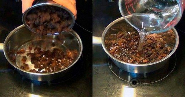 Comment nettoyer votre foie avec raisins secs et de lu0027eau en - nettoyage a sec maison
