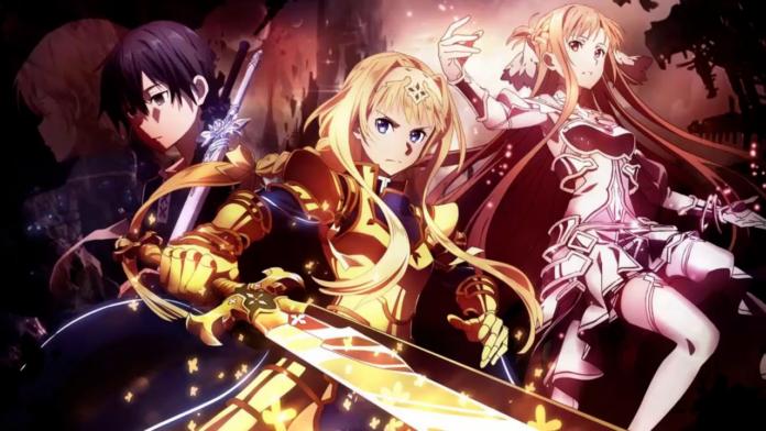 Sword Art Online Alicization War Of Underworld Anime Episode Order Is Unveiled Sword Art Online Wallpaper Sword Art Sword Art Online