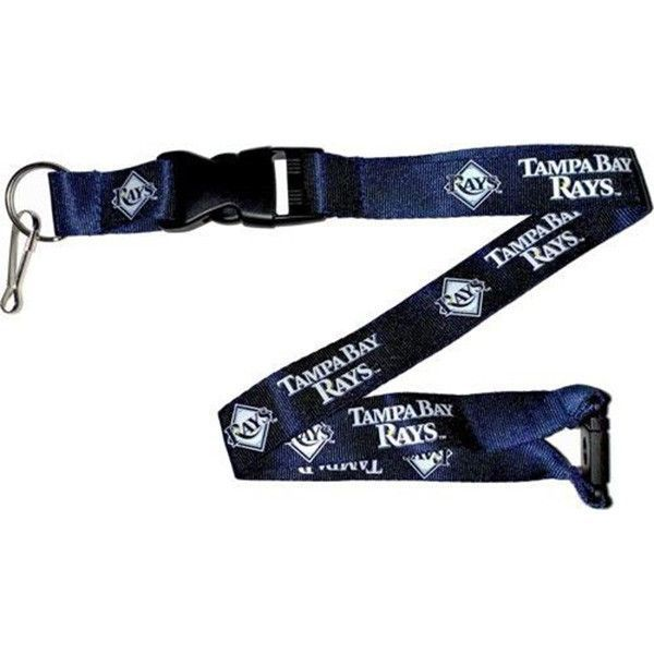 Tampa Bay Rays Lanyard - Detachable Keychain