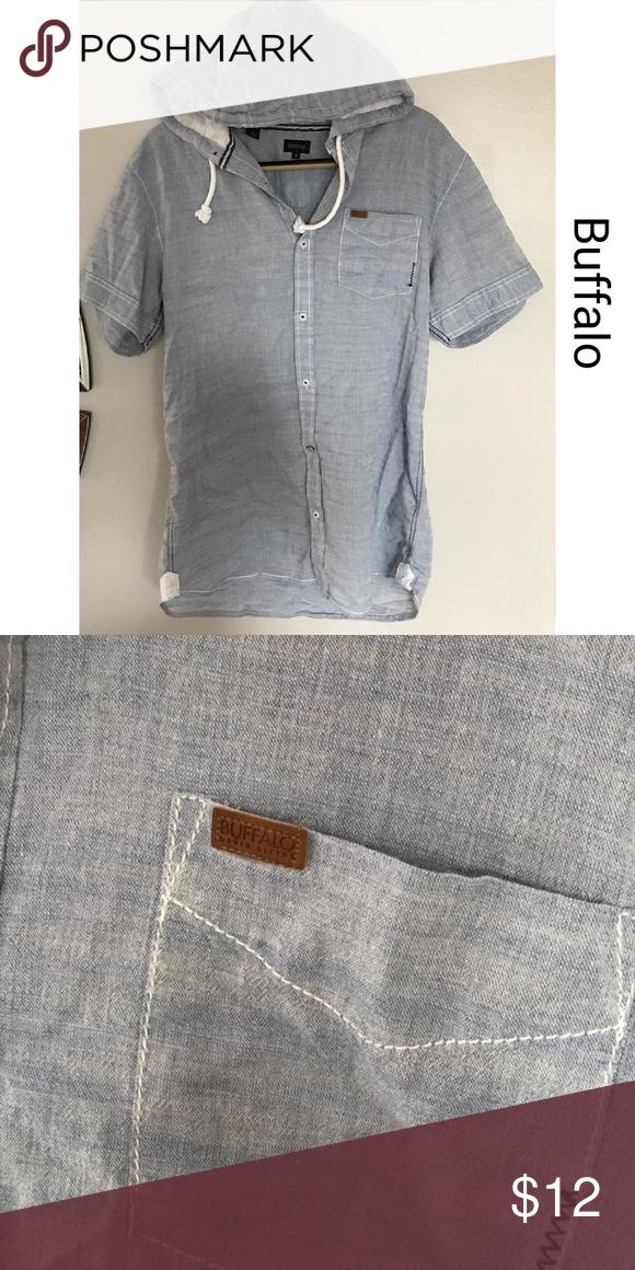 Buffalo Mens hoodie shirt- size medium | Bitton A.F.C., Buffalo ...
