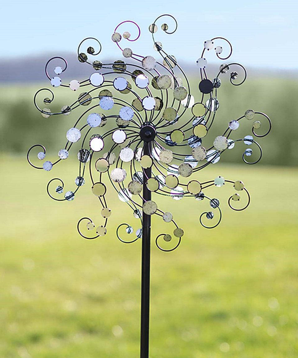 Take A Look At This Mirror Disc Octopus Wind Spinner Today Metal Wind Spinners Welding Art Wind Spinners